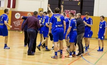 'Latgols' handbolisti izcīna Latvijas čempionāta bronzu