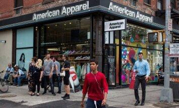 ASV apģērbu ražošanas milzis 'American Apparel' lūdz bankrota aizsardzību