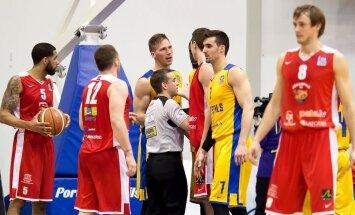 'Jēkabpils' basketbolisti vēl neļauj 'Ventspilij' sasniegt LBL finālu