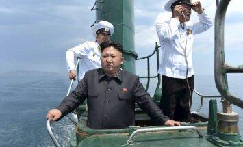 КНДР вновь запустила баллистическую ракету с подводной лодки