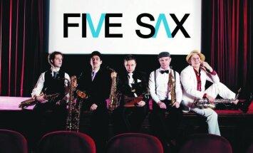 Festivālu 'Saxophonia' atklās ansamblis 'Five Sax'