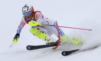XXIII Ziemas olimpisko spēļu rezultāti Alpu kombinācijā sievietēm (22.02.2018.)