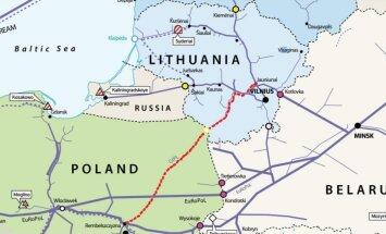 Новый польско-литовский газопровод снизит цены на газ в Литве