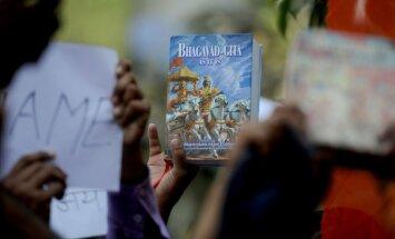 Krievijas tiesa atstāj spēkā atteikumu aizliegt Bhagavadgītu