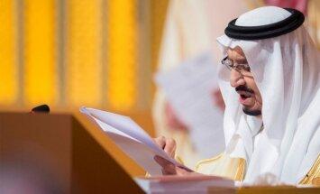 Saūda Arābijas karalis kritizē Trampu par ASV vēstniecības pārcelšanu uz Jeruzalemi