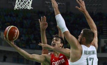 Lietuvas basketbolisti zaudē Horvātijai un ceturtdaļfinālā tiksies ar Austrāliju