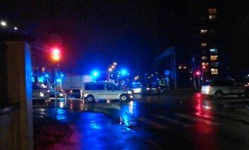 Video: Trīs auto avārijā Lielirbes ielā divi cietušie
