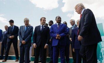 G7 gatavi pastiprināt sankcijas pret Krieviju; nespēj vienoties klimata jautājumā