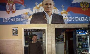 Serbija gatavojas Putinu uzņemt kā varoni