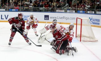 Rīgas 'Dinamo' ar uzvaru pār Helsinku 'Jokerit' noslēdz šo KHL sezonu