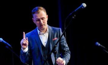 Foto: Jānis Stībelis atklāj koncertturneju 'Sajūti!'