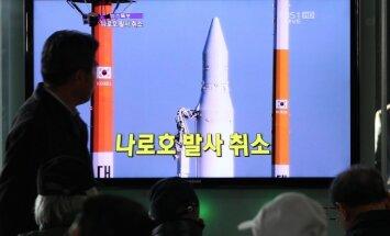 Ziemeļkoreja paziņo plānoto raķetes lidojuma trajektoriju