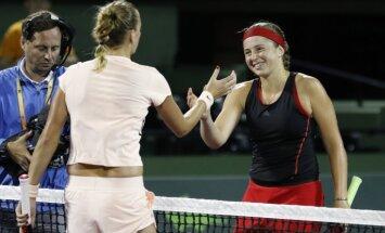 Остапенко впервые в сезоне победила соперницу из топ-10 — чешку Квитову