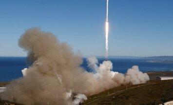 'SpaceX' kosmosā nogādājusi slepenu ASV valdības kravu