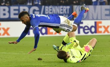 Krasnodar Stanislav Kritsyuk - Schalke Eric Choupo-Moting