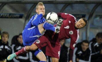Latvijas futbolisti Lihtenšteinā centīsies tikt pie otrās uzvaras PK kvalifikācijā