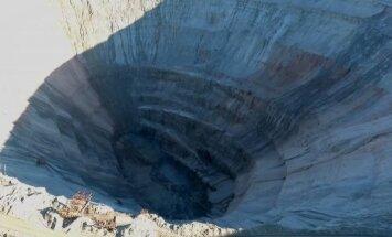 Krievijā applūdušās dimantu raktuvēs pazūd 17 cilvēki