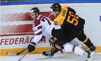 Latvijas hokejisti dramatiski zaudē Vācijai un nebrauks uz Phjončhanas olimpiskajām spēlēm