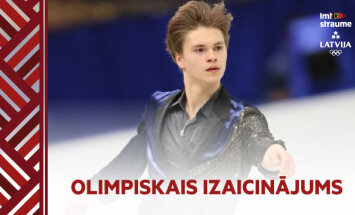 Olimpiskais izaicinājums: daiļslidotājs Vasiļjevs un cīkstone Grigorjeva tiekas uz ledus