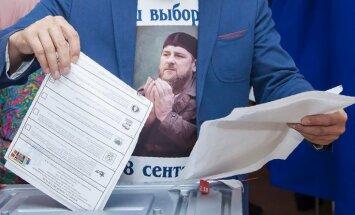 Putinam uzticamajam Kadirovam 97% atbalsts vēlēšanās