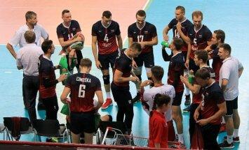 Latvijas volejbolisti sāk cīņu par Eiropas čempionāta finālturnīru – pirmais pārbaudījums Izraēlā