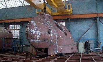 Неплатежеспособное предприятие Tosmares kuģubūvētava планирует увольнять работников