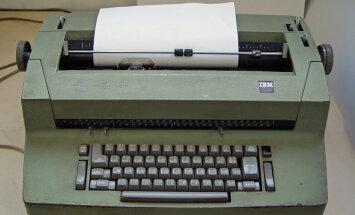 Projekts 'Bandīts'. Kā VDK 70. gados noklausījās ASV vēstniecības IBM rakstāmmašīnas