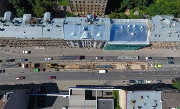 Rīgas siltums: ремонт на ул. Бривибас близится к завершению