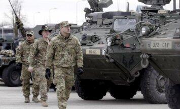 ASV izvietos Austrumeiropā bruņutanku brigādes kaujas grupas