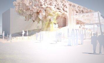 Latvijas paviljons Milānas 'World Expo' izskatīsies pēc ozola