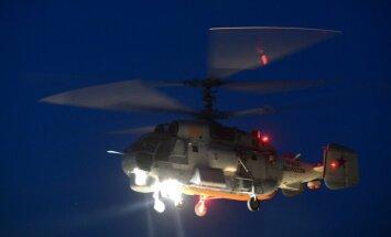 NATO patruļlidmašīnas identificējušas Latvijas ekonomiskajā zonā ielidojušu Krievijas helikopteru
