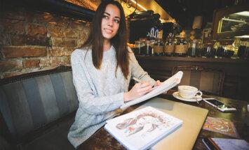 """Латвийская модель-иллюстратор Анастасия Маслакова: """"Черпать вдохновение мне помогает Instagram"""""""