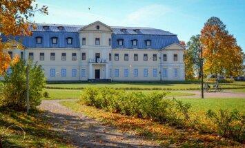 ФОТО: Живописный парк Краславского дворца, принадлежавшего графам Плятерам