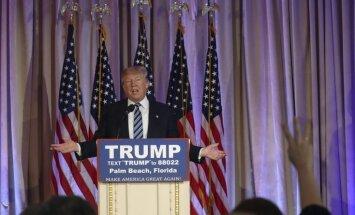 Drošības apsvērumu dēļ Tramps atceļ priekšvēlēšanu pasākumu Čikāgā