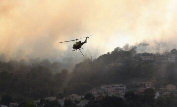 Во Франции бушуют лесные пожары: эвакуированы 10 тысяч человек