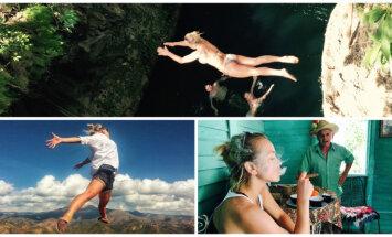 Foto: Aijas Andrejevas krāšņie piedzīvojumi Kubā