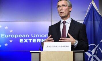 Krievija būtiski palielina savu spēku klātbūtni Ukrainā, paziņo NATO ģenerālsekretārs