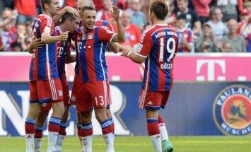Tiesnešiem jāpārstāj respektēt 'Bayern', paziņo 'Werder' ģenerālmenedžeris