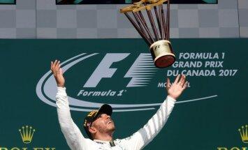 Формула-1. Двойная победа в Монреале выводит Mercedes в лидеры