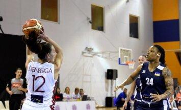 Latvijas basketbolistes pirmajā pārbaudes spēlē pirms EČ pieveic Ukrainu