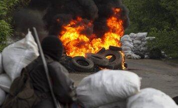Slovjanskā turpinās Ukrainas bruņoto spēku pretterorisma operācija