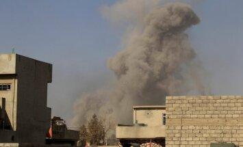 ASV uzlidojumos 'Daesh' Mosulā nogalinājusi 105 civiliedzīvotājus