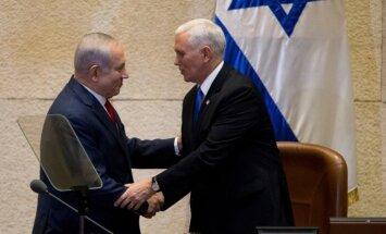 Penss: ASV vēstniecība Izraēlā tiks pārcelta uz Jeruzalemi līdz 2019.gada beigām