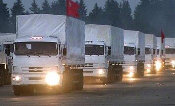 Российские грузовики с помощью для Донбасса могут поехать через Луганскую область