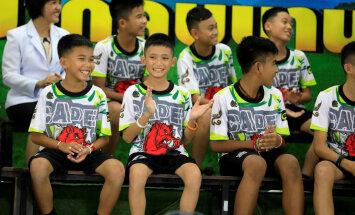 Тайские подростки впервые появились на публике