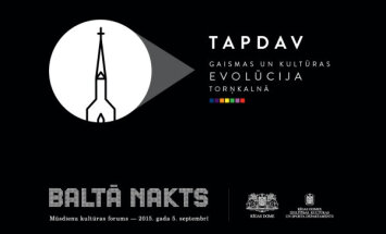 'Baltajā naktī' gaidāma 'Gaismas un kultūras evolūcija Torņakalnā'
