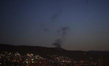 Sīrija paziņo par raķešu notriekšanu, bet vēlāk ziņas atsauc