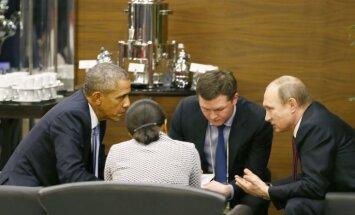 Путин с Обамой обсудили ситуацию на Украине и в Сирии