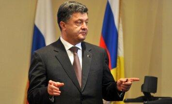 Ukrainai ir arī 'miera plāns B', norāda Porošenko
