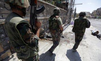 Sīrija sola nekad neizmantot ķīmiskos ieročus pret saviem iedzīvotājiem